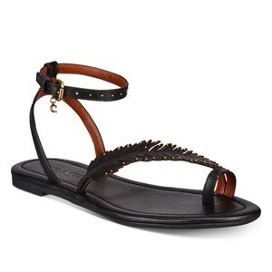 Coach Lily Feather sandal